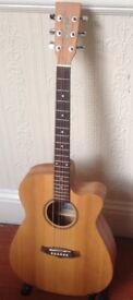 Tanglewood TWR SFS CE electro acoustic and Brand new hard case