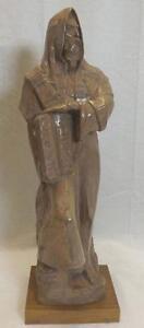 Moses Sculpture Holding Ten Commandments