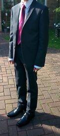 Men's / Young man's M&S Charcoal Suit