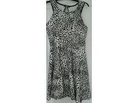 Black & White Dress, size 14
