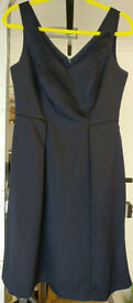 MONSOON Women's Dress - size 12 - Navy - *Mint condition*