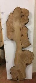 Burr elm burr oak boards walnut slabs timber coffee tables side tables