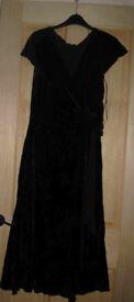 Laura Ashley black dress