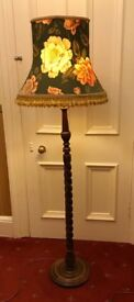 Vintage traditional floor standing lamp