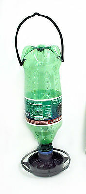 Gadjit Soda Bottle Hanging Wild Bird Feeder Kits (Black) Pack of 2 Free Shipping