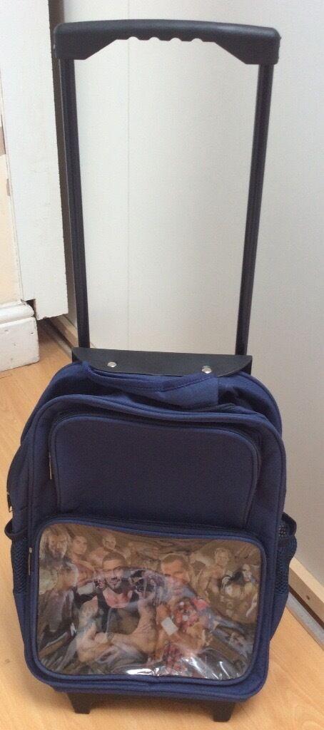 WWE child suitcase/Racksack