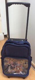 WWE child's suitcase/ Rack sack