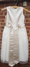 Young girl's Jasper Conran bridesmaid dresses