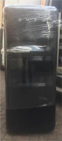 Smeg fridge freezer (black) 6 months Warranty Good condition