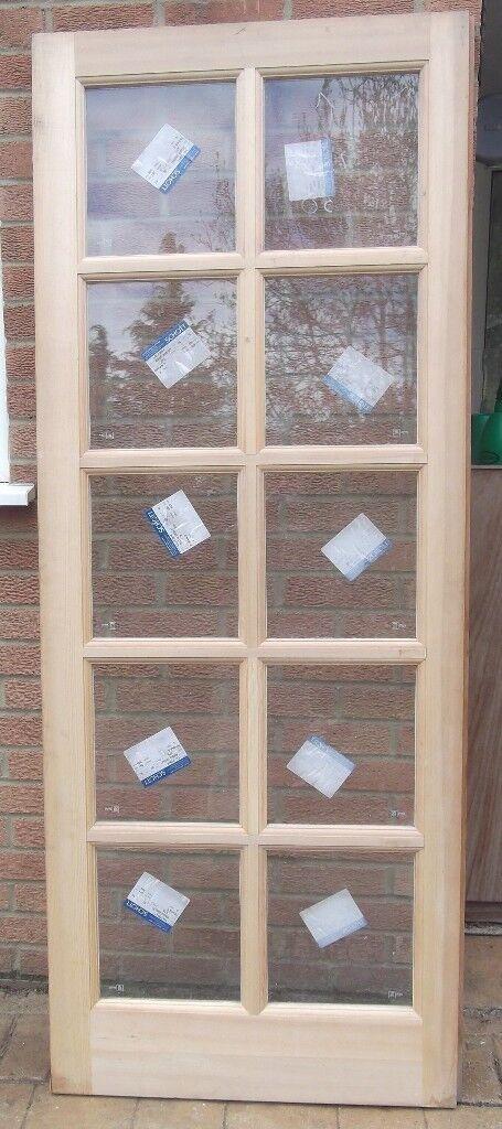 Jeld Wen Fire Door New 10 6mm Thick Schott Glass Panels 30min Fd W