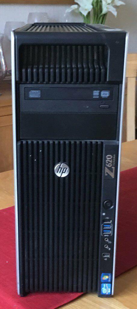 HP z620 2x E5-2670 CPU, 32GB Ram, New 240gb SSD, 1TB HDD, Quadro K4000 GPU  | in Stoke-on-Trent, Staffordshire | Gumtree