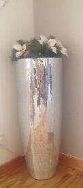 (1 )Large mirror vase
