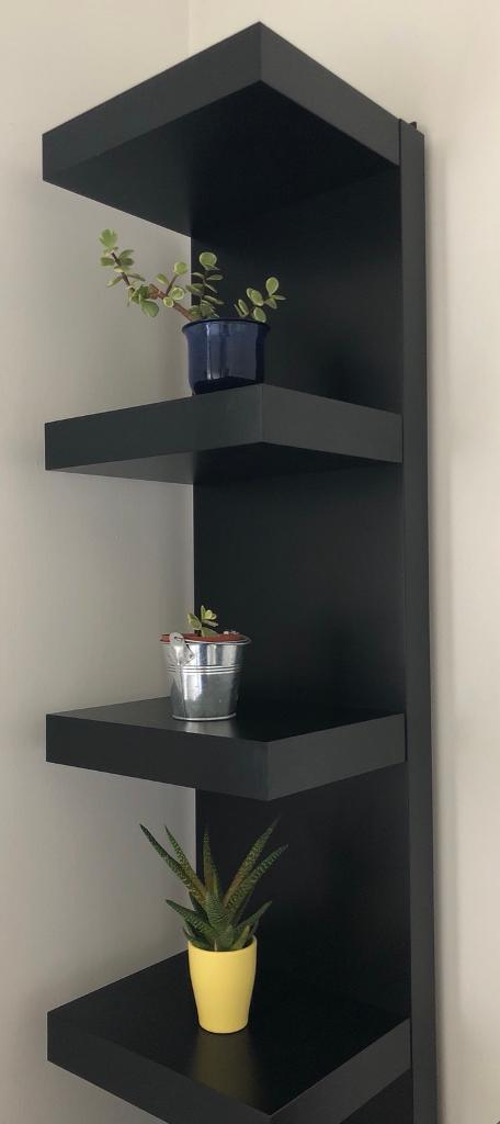 Ikea Lack Wall Shelf Unit Black In Stanmore London Gumtree