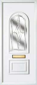 WHITE UPVC FRONT DOORS