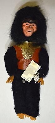Planet Of The Apes STUFFED DOLL - GORILLA 1974 MINT w TAGS Rare APJAC