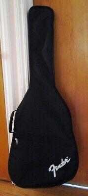 "Fender Gig Bag Soft Guitar Case w/Straps - Measures 43"" x 16"" x 5"" - NICE!"