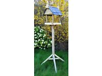 Hand Crafted Bird Table with two Bird boxes
