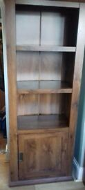 Dark Wood Shelving Unit