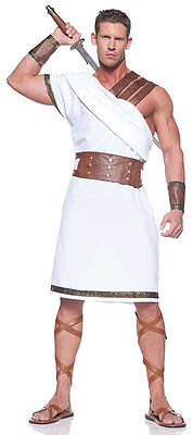 Spartan Soldier Costume (ADULT MENS GREEK GOD ROMAN SOLDIER WARRIOR COSTUME EMPEROR CENTURION)