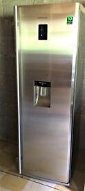 Samsung Tall Fridge, Refrigerator, Larder with Digital display Water dispenser