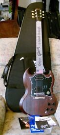 2017 GIBSON SG FADED T **BRAND NEW** Electric Guitar WORN BROWN with CASE+CANDY