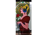 stain glass overlay