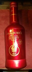 Ltd Edition Decorative Bottle Cockburns Port 1815 Empty