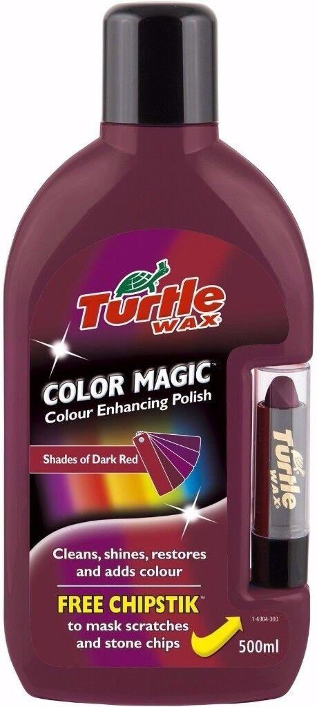 TURTLE WAX Color Magic Scratch Remover - Dark Red - 500ml - FG6904