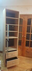 Beech wood cabinet for sale