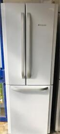 Hotpoint fridge freezer height height is 200 cm and width is 70 cm very good condition