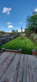 Fencing,gardening and landscaping survive