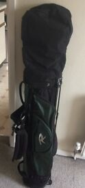 Golf Bag & 9 clubs, very good condition, MUST GO!, highest offer accepted, collection from Bristol