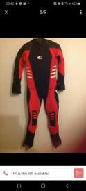Complete set of scuba diving equipment