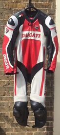Dainese Ducati leathers, one piece, size 54