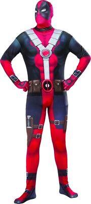 Herren Erwachsene Deadpool 2. Skin Deluxe Lizensiertes - Deluxe Deadpool Kostüm