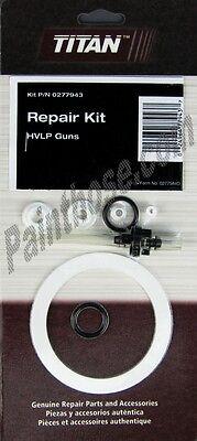 Titan Capspray 0277943 Or 277943 Hvlp Gun Repair Kit Oem