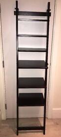 IKEA Hjalmaren Black Shelf Unit X 2