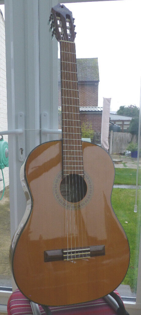 3bd6b5275d Washburn Classical Guitar, Great Condition With New Hard Foam Case