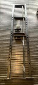 BLK BOX Wall Mounted Squat Rack