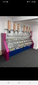 Large pick n mix sweet stand