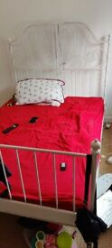 IKEA Leirvik double bed frame and slats (4ft6 standard double)