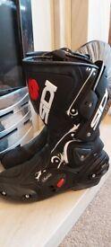Sidi motorbike boots - size 6.5