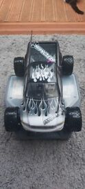 Schumacher Menace 21 pro nitro RC car