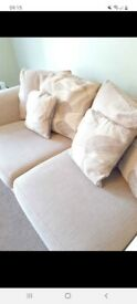 Large 2 seater comfy sofa