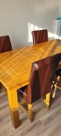 Oak Furniture wood table