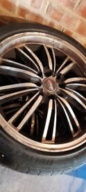 4x Alloy Wheels (with tyres)