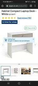 Habitat compact desk RRP £55