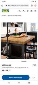 Vadholma IKEA kitchen island