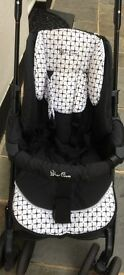 Silver cross Pram,stroller,car seat,carry cot all in one