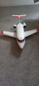 Vintage Retro Playmobil Aeroplane with 2 pilots, 2001